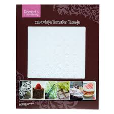 roberts damask chocolate transfers