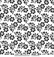 vector background modern pattern floral pattern wallpaper baroque damask seamless stock vector