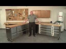 stainless steel workbench cabinets grizzly stainless steel tool cabinets youtube