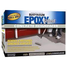 rust oleum epoxyshield 1 gal concrete resurfacer kit 244025 the