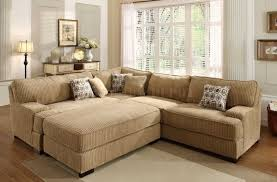 Sectional Sofas Fabric Living Room Fabulous Cloth Sectional With Recliner Fabric