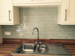 laura ashley eau de nil tile splashback kitchen pinterest
