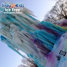 ice tree veal u0027s ice tree in indianapolis indy with kids