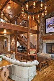 ranch home interiors house beams wood beams wood open stairway with balcony home