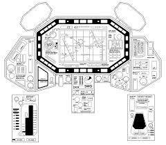 creating a small spaceship cockpit set