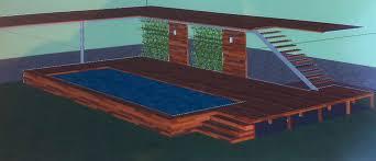 terrasse en bois suspendue piscine terrasse et aménagements bois prestations