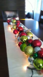 Christmas Centerpieces For Tables by Best 25 Centre De Table Noel Ideas On Pinterest Table Noel