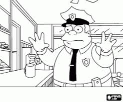 simpson coloring pages the simpsons coloring pages printable games 2