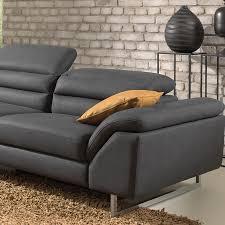 mousse polyur hane canap canapé noir une méridienne sofamobili
