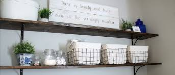 the easiest diy laundry room shelves lady u0026 laura kate