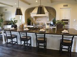 kitchen island table with 4 chairs 39 fabulous eat in custom kitchen designs