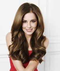 easy hairstyles with long dark brown caramel hair color for oval