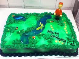 fishing deer hunting birthday cake cakecentral com