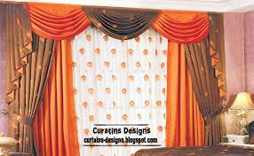 orange bedroom curtains contemporary bedroom curtain design orange with brown curtain