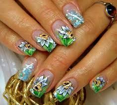 daffodil nail art nail art i love pinterest nail art nails