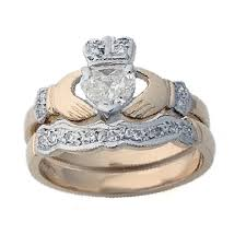 claddagh wedding ring claddagh engagement rings layaway 14k yellow gold diamond