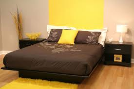 bedroom queen bed frame with headboard platform bed near me king