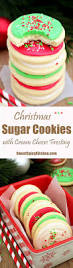 christmas sugar cookies with cream cheese frosting sweet spicy