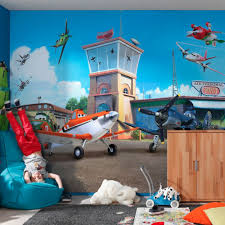 disney planes airport wallpaper great kidsbedrooms the children home disney planes airport wallpaper