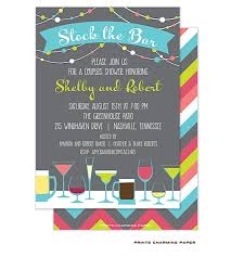 stock the bar invitations stock the bar shower party invitations drinks stock the bar