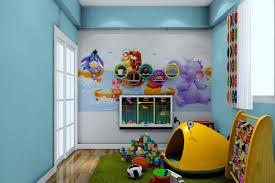 Bedroom Cartoon Cartoon Bedroomcartoon Pupils Bedroom Interior Design In Blue And