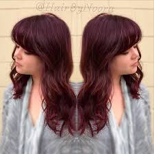 coke blowout hairstyle red velvet color melt hairbynoora beautifulhair