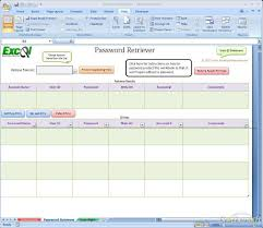 Windows Spreadsheet Download Free Excel Spreadsheet Password Retriever Excel