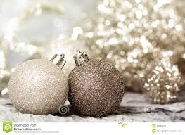 ornaments of gold and silver stock image image 35160319