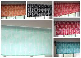 Coral Valance Curtains Saletribal Arrow Window Valance Curtain Premier Prints