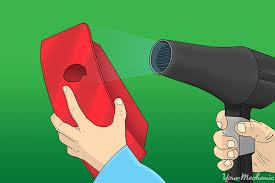 Hair Dryer Glue how to glue a taillight lens yourmechanic advice