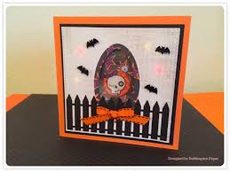 halloween picture frame crafts bubblegum paper a spooooky halloween shaker card featuring