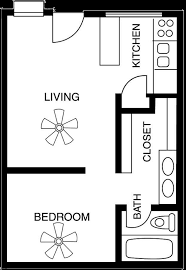 500 Sq Ft Studio Floor Plans Download Small 1 Bedroom Apartment Floor Plans Home Intercine