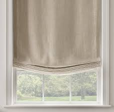 Roman Curtains Restoration Hardware Belgian Heavyweight Textured Linen Flat Roman