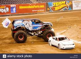 monster truck show in houston april 14 2011 houston texas u s lucas oil crusader lindsey