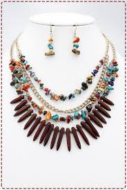 multi statement necklace images Multi layered multi statement necklace set new arrivals trendy jpg