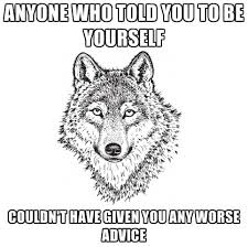 bad advice sarcastic wolf know your meme