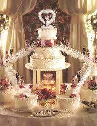 nice castle fountain wedding cake sang maestro