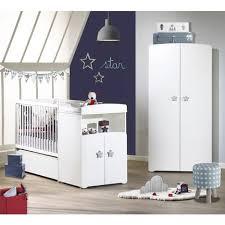 chambre bébé evolutive pack promo ensemble lit bébé combiné 60x120 cm évolutif en 90x190 cm