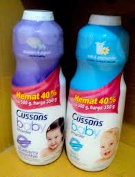 Bedak Baby jual bedak bayi cussons 350gr 150gr naizam