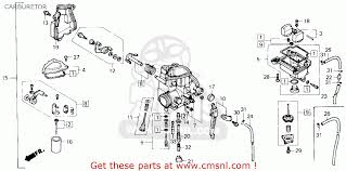 honda trx250x fourtrax 250x 1987 h usa carburetor schematic