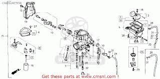 honda trx250x fourtrax 250x 1987 h usa carburetor schematic