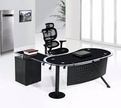 Modern Glass Executive Desk Modern Glass Executive Desk Large Home Office Furniture Eyyc17
