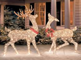 Holiday Decorations Outdoor Outdoor Holiday Decorations Best Of Outdoor Reindeer Christmas
