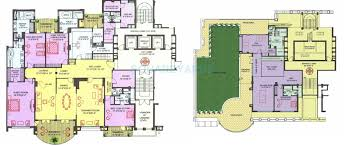 Penthouse Floor Plan by 4 Bhk 9700 Sq Ft Penthouse For Sale In Ambience Caitriona At Rs