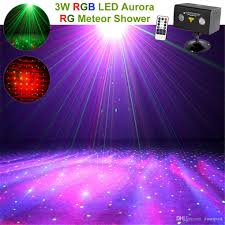 Theater Lighting Mini Ir Remote Rg Laser Stage Lighting Effect Rgb Full Color Led