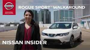 nissan rogue sport review 2017 nissan rogue sport walkaround nissan insider review youtube