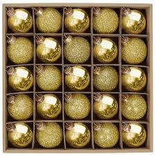 shop for the assorted 45mm mini gold glass ornaments by celebrate