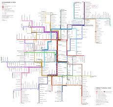 Vienna Metro Map by Vienna Tramway Network Map The Vienna Metro