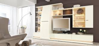 Contemporary Living Room Cabinets Modern Living Room Interior Designs From Musterring