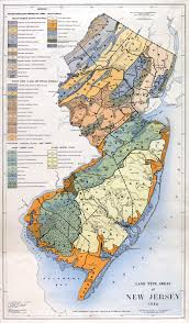 Geological Map Of Usa by Rutgers Cartography Lab